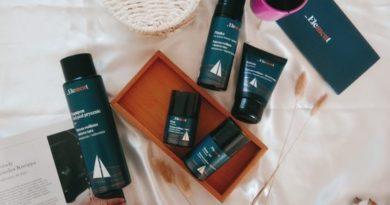 Męska pielęgnacja skóry z kosmetykami Element