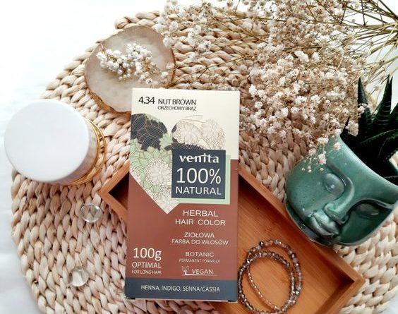 ziołowa farba do włosów Venita 100% Natural